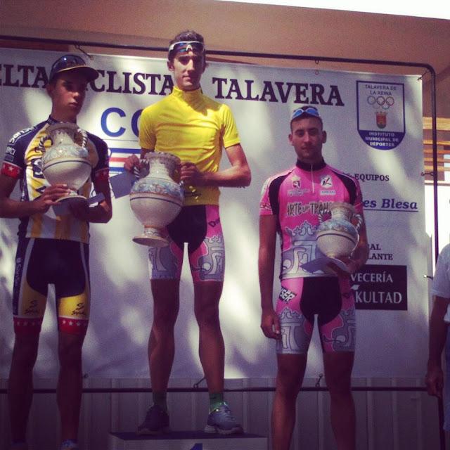 Cubino en el podium