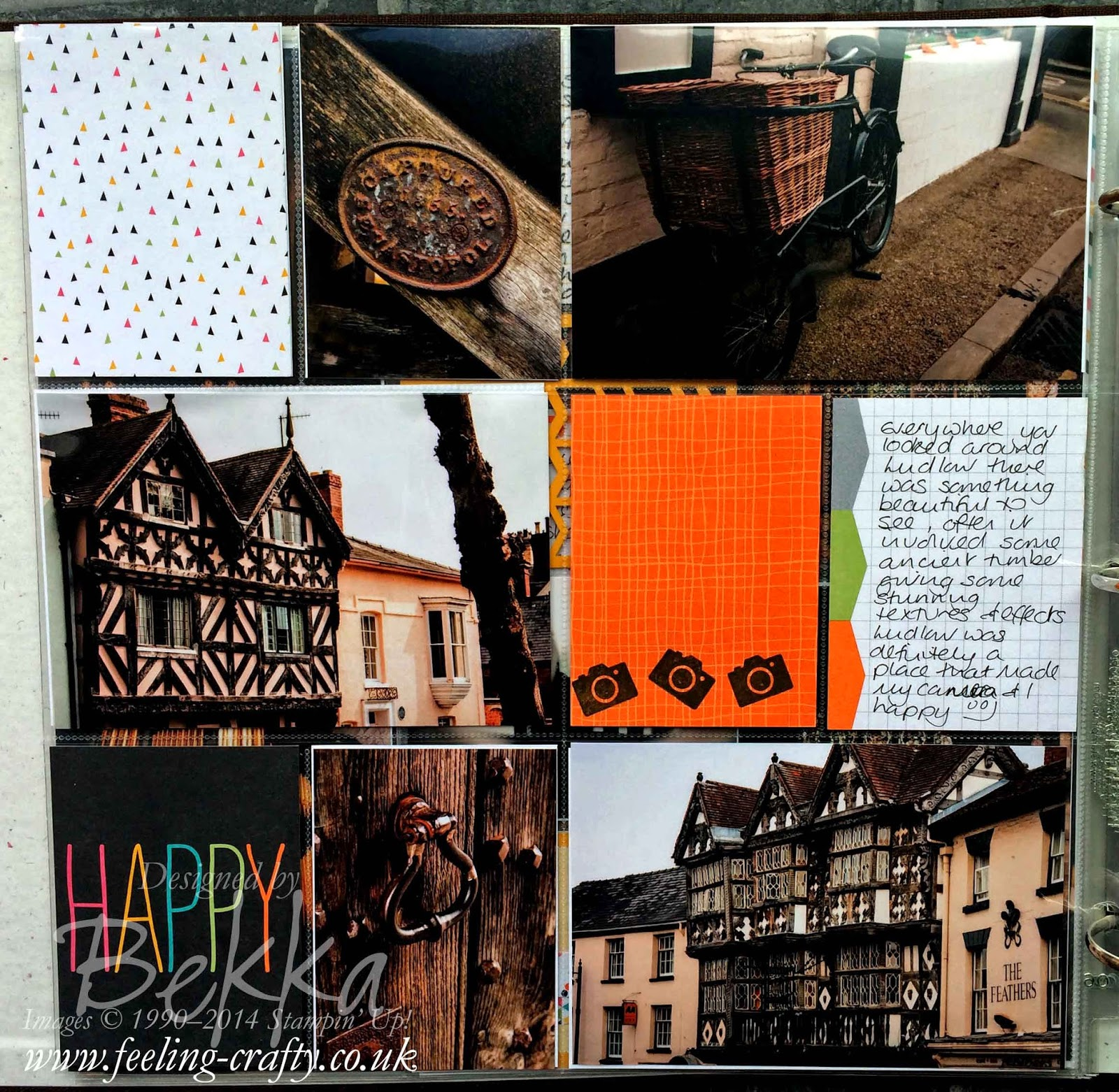 Exploring Ludow the Project Life by Stampin' Up! Way with Stampin' Up! UK Independent Demonstrator Bekka - check out her blog here