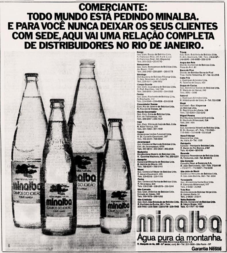 nestle. anos 70.  Reclame 1976.  década de 70. os anos 70; propaganda na década de 70; Brazil in the 70s, história anos 70; Oswaldo Hernandez;