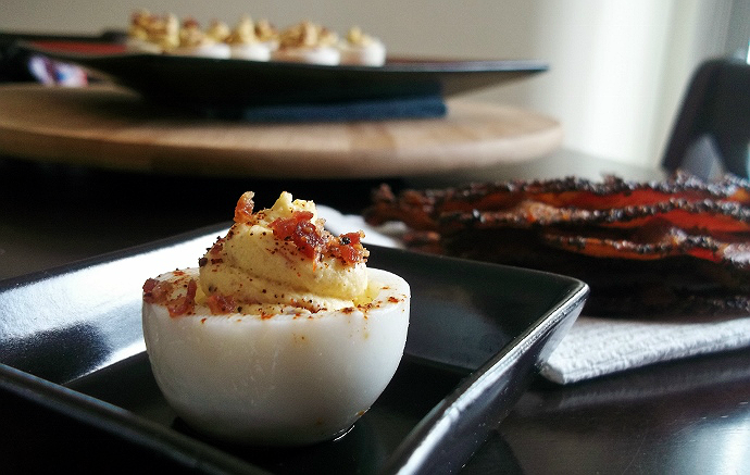 Bacon Chipotle Deviled Eggs Recipe