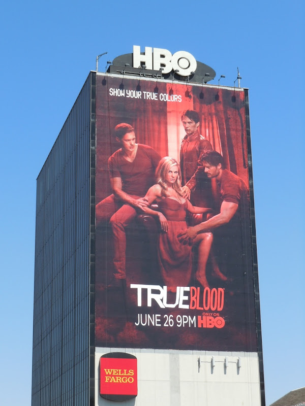 True Blood season 4 TV billboard