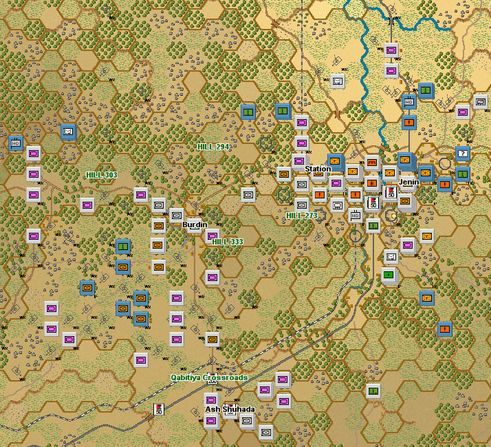 Campaign Series Middle East - Endgame at Jenin 1967