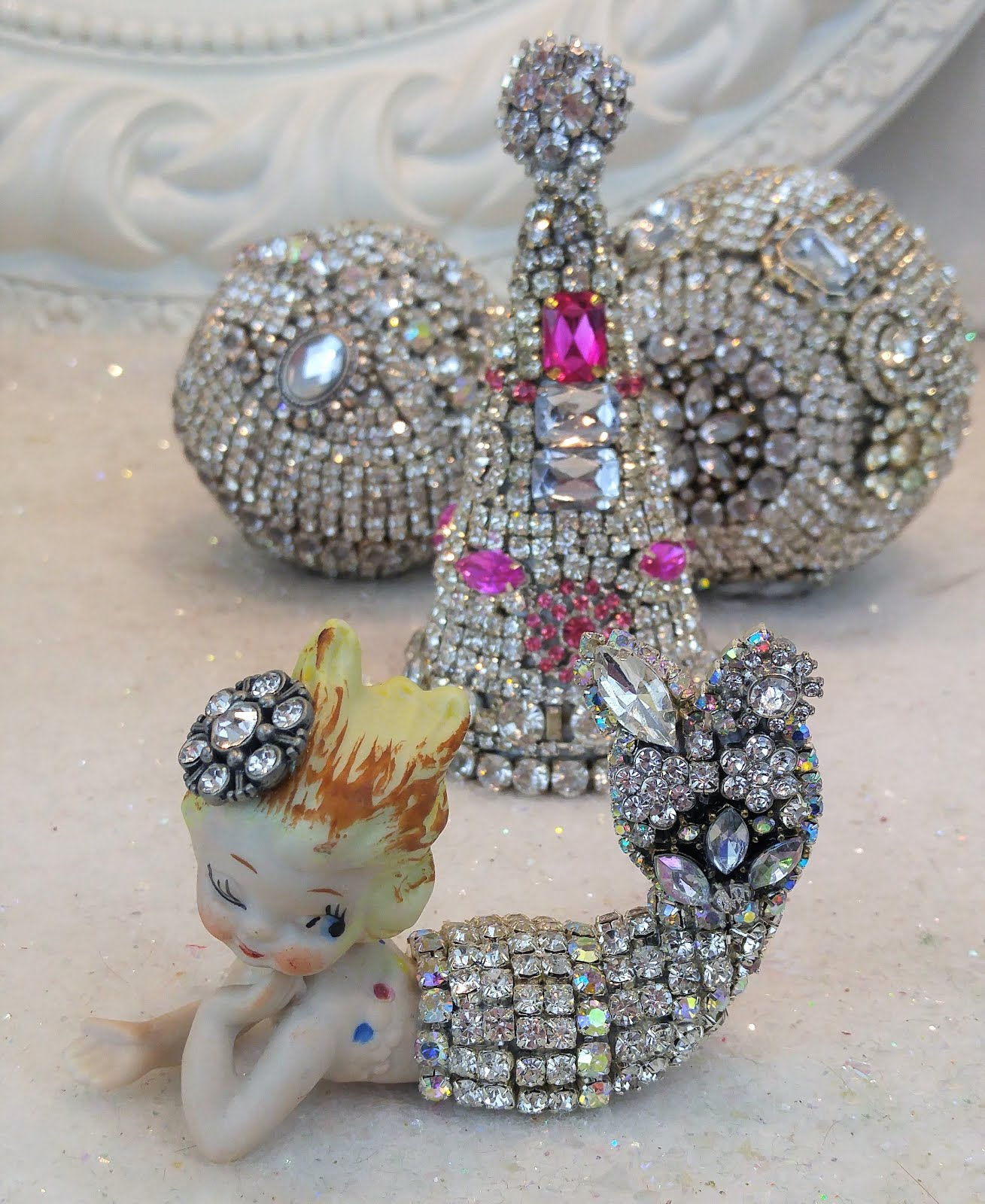 Little Rhinestone Mermaid