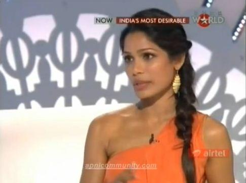 Freida Pinto @ India's Most Desirable Show !