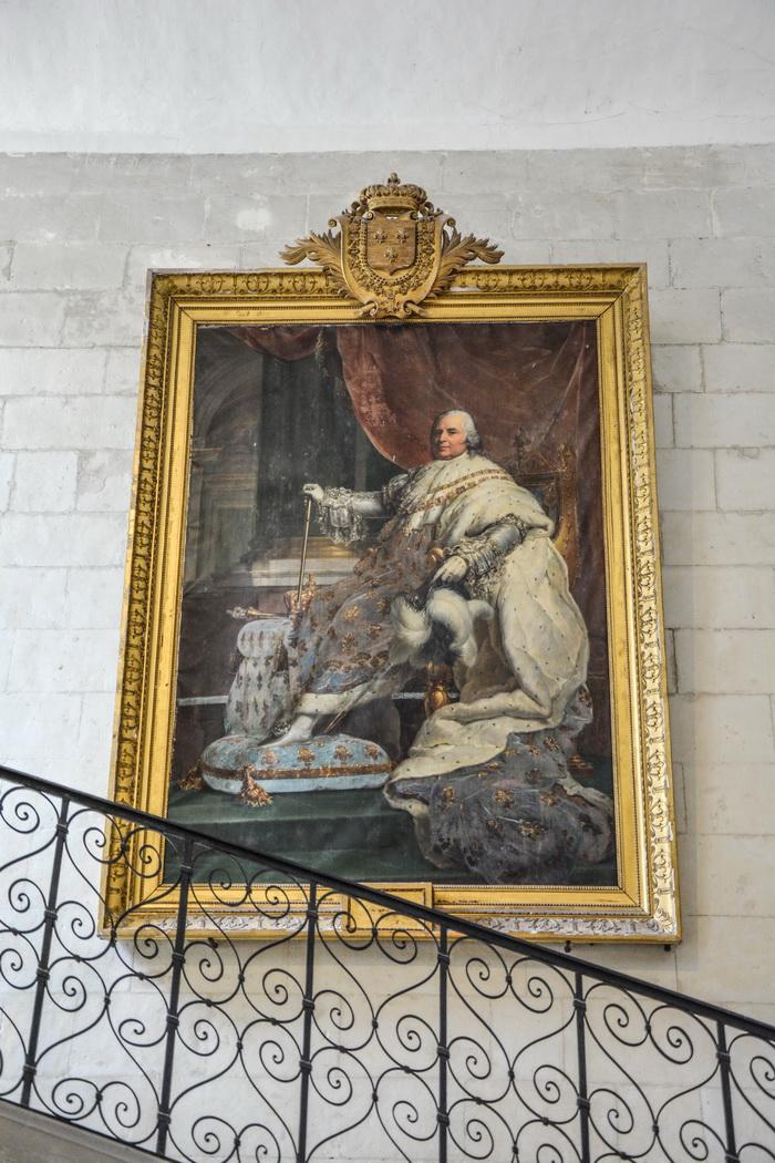 inside the Château d'Ussé