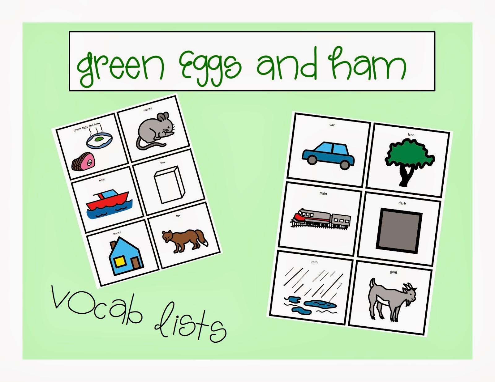 Book of the Month Green Eggs and Ham The Autism Adventures of – Green Eggs and Ham Worksheets