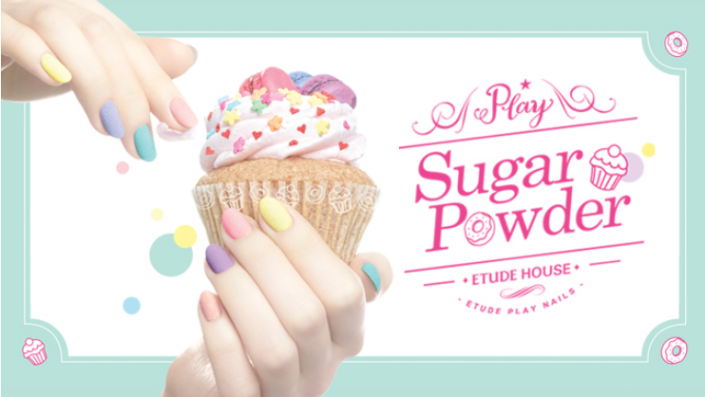 Etude House Sugar Powder Play Nails collection