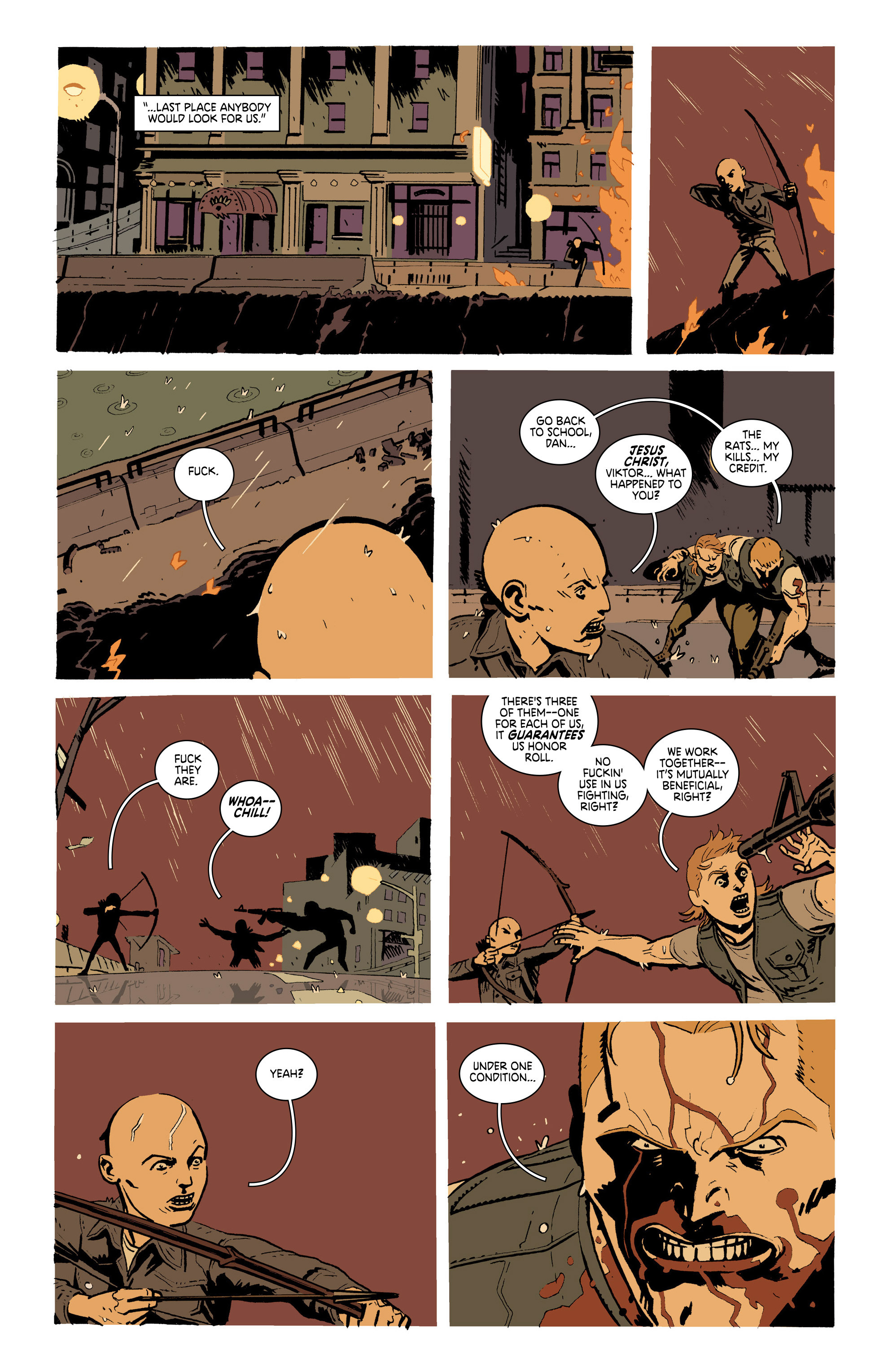 Read online Deadly Class comic -  Issue #19 - 22