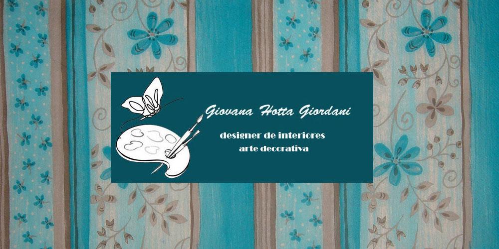 Giovana Hotta Giordani    Design de Interiores  Pintura decorativa