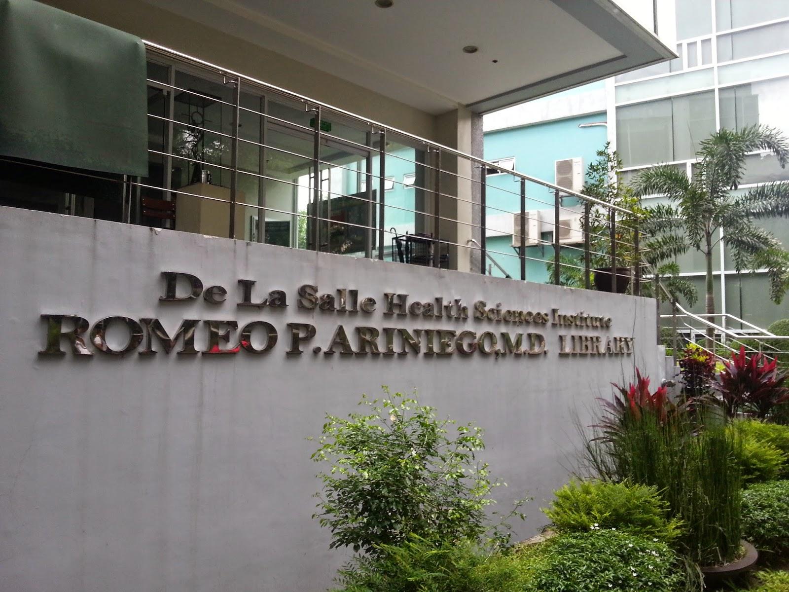 Salle Sciences la Salle Health Sciences