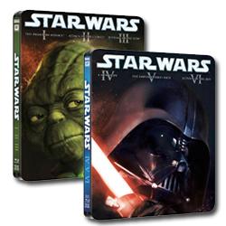 edición metálica de Star Wars en Blu-ray