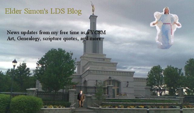 Elder Simon's LDS blog