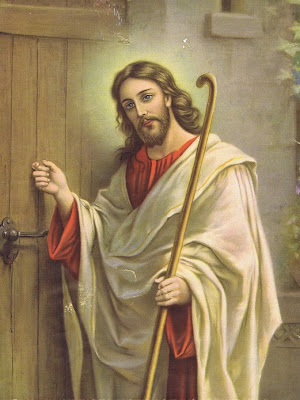 Jesus Knocking on Door Image