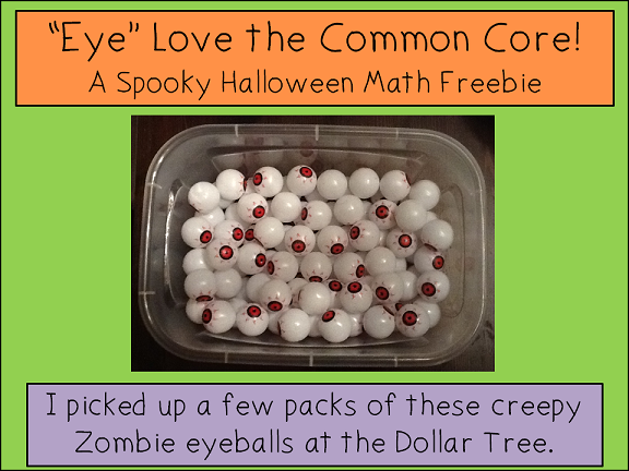 Halloween Freebie from Peace, Love and Learning