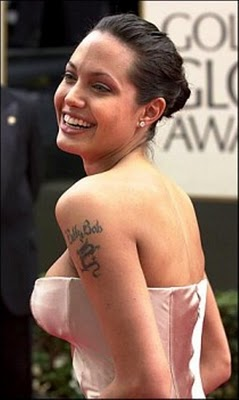 Angelina Jolie Tattoes