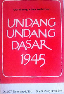 Catatan Seputar Pasal-Pasal UUD 1945