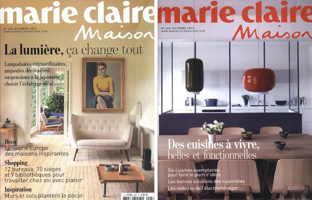 Oono architectures marie claire maison octobre 2012 for Marie claire maison terrasse