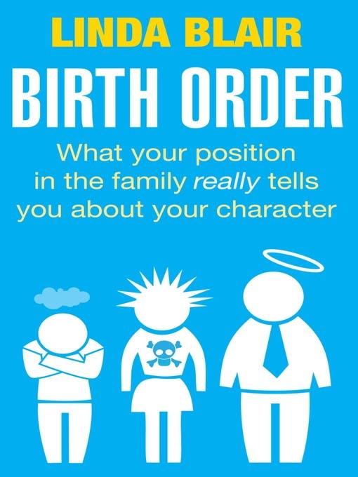 Birth Order Thesis Statement