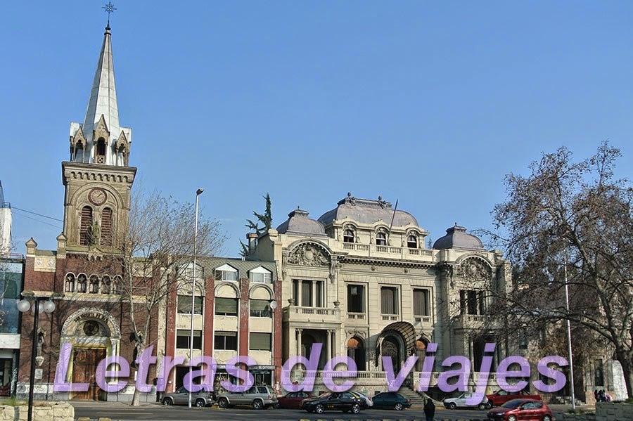 Letras de viajes chile santiago la alameda monumento a los h roes de la concepci n - San vicente del palacio ...
