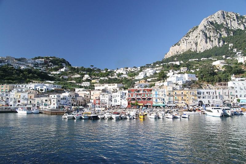 Making Carnival Magic - 10/07/11: Naples to Capri and Capri to ...