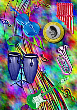 Las cinco notas musicales