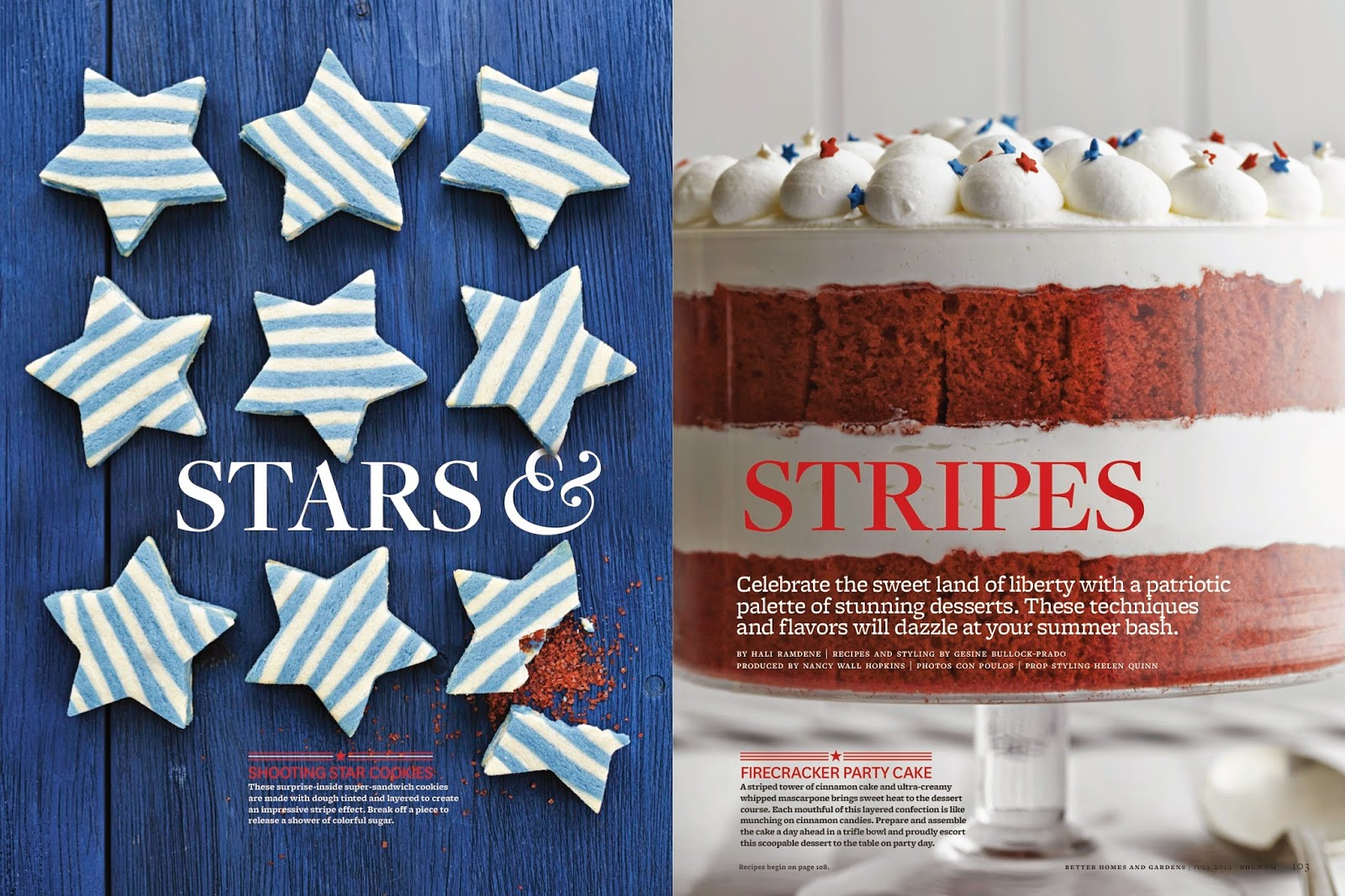 A Party Style July 4th Sweet Treats Better Homes And