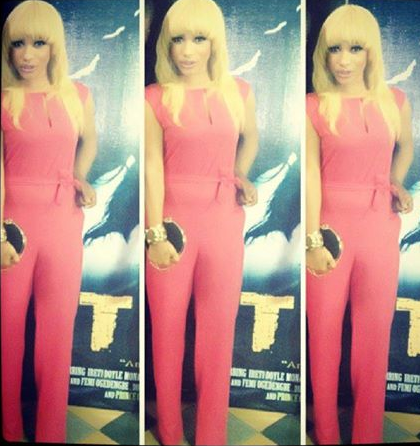 Tonto Dikeh - Torn Movie Premier