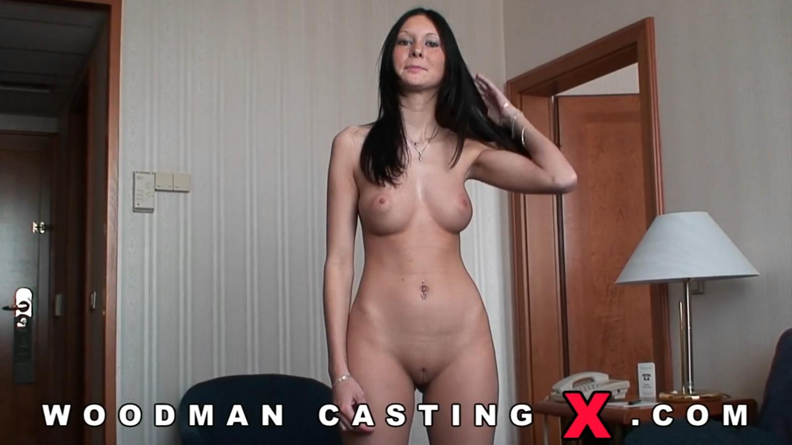 порно кастинг с красавицей вудмана