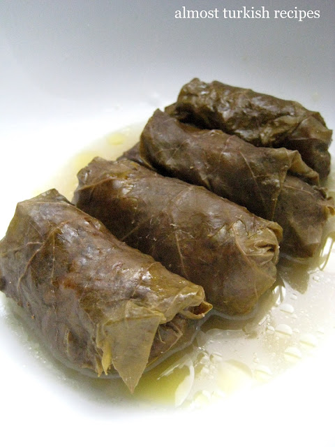 Stuffed Grape Leaves With Groundmeat