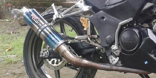 Modif Knalpot Yamaha Vixion  Modifikasi Motor Yamaha 2016