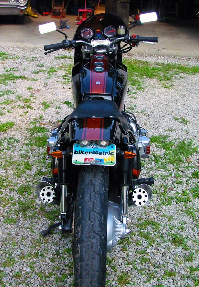 honda gl1000 goldwing - rear | jeff adams