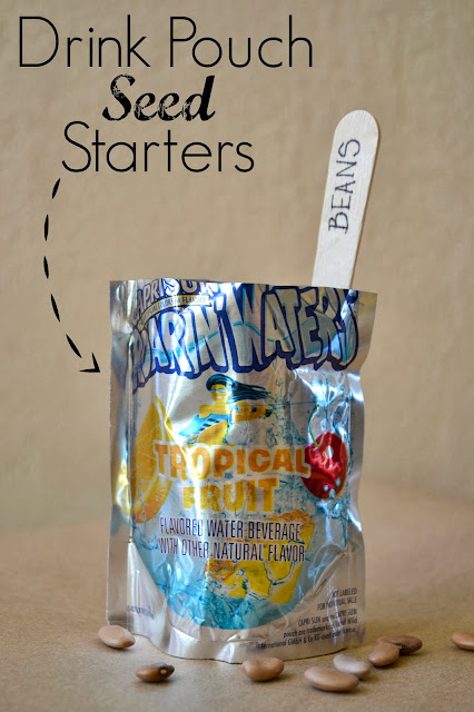 Mommy Testers, Drink Pouch Seed Starters #shop