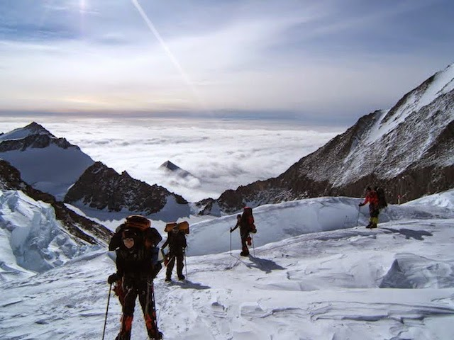Wim Smets Climbing team