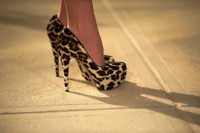 prada leopard print pumps