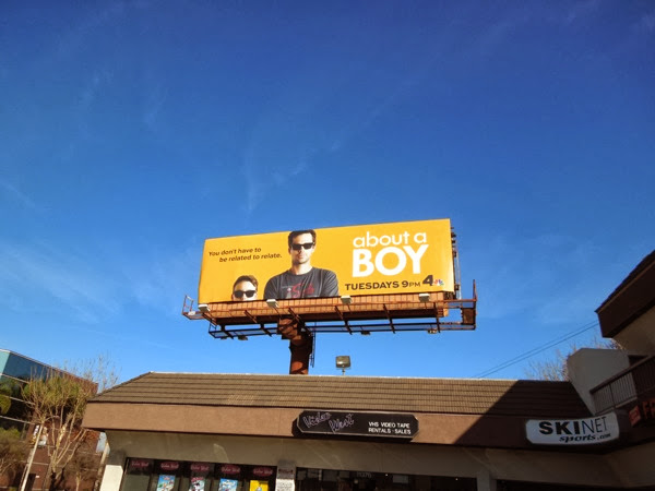 About a Boy season 1 TV billboard