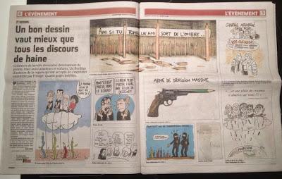 """Dessins publiés dans le """"Courrier Picard"""" ©Guillaume Néel"""