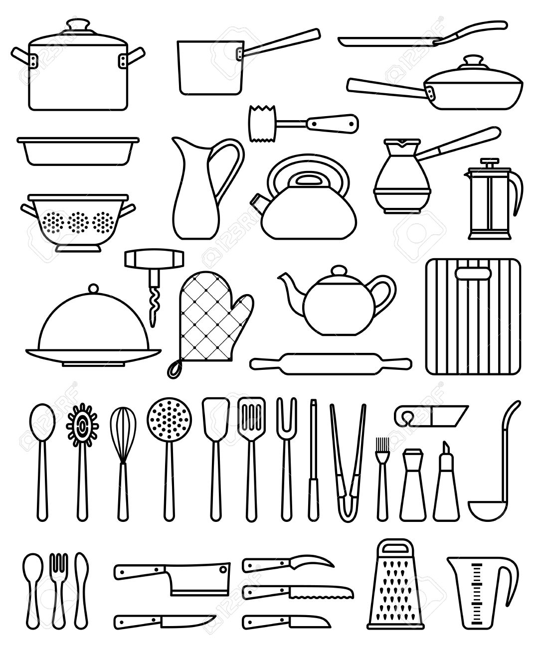 Kitchen equipment and their uses - Here Are Some Utensils Or Tools Used In Baljinder Chohan S Kitchen With Their Uses