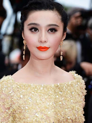 Fan Bingbing Gold Earrings