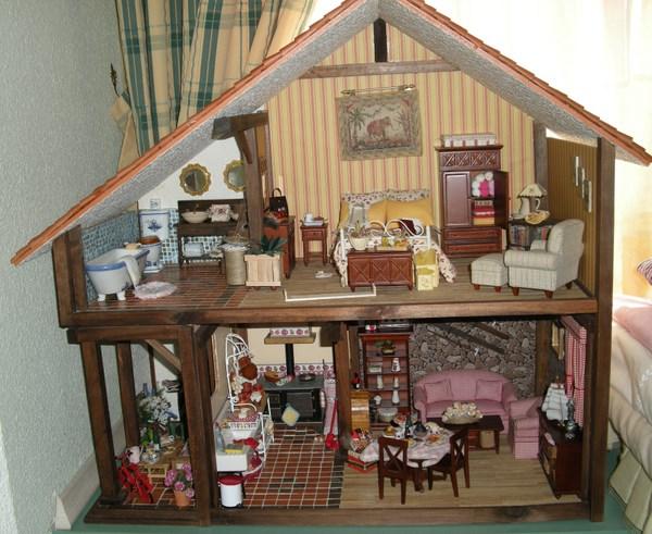 Como hacer casas en miniatura nuevo diseo mini casa for Cocina lidl madera