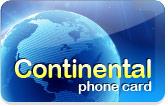 Continental Phone Card
