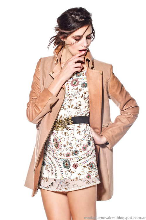 Maria Dahn otoño invierno 2013 vestidos
