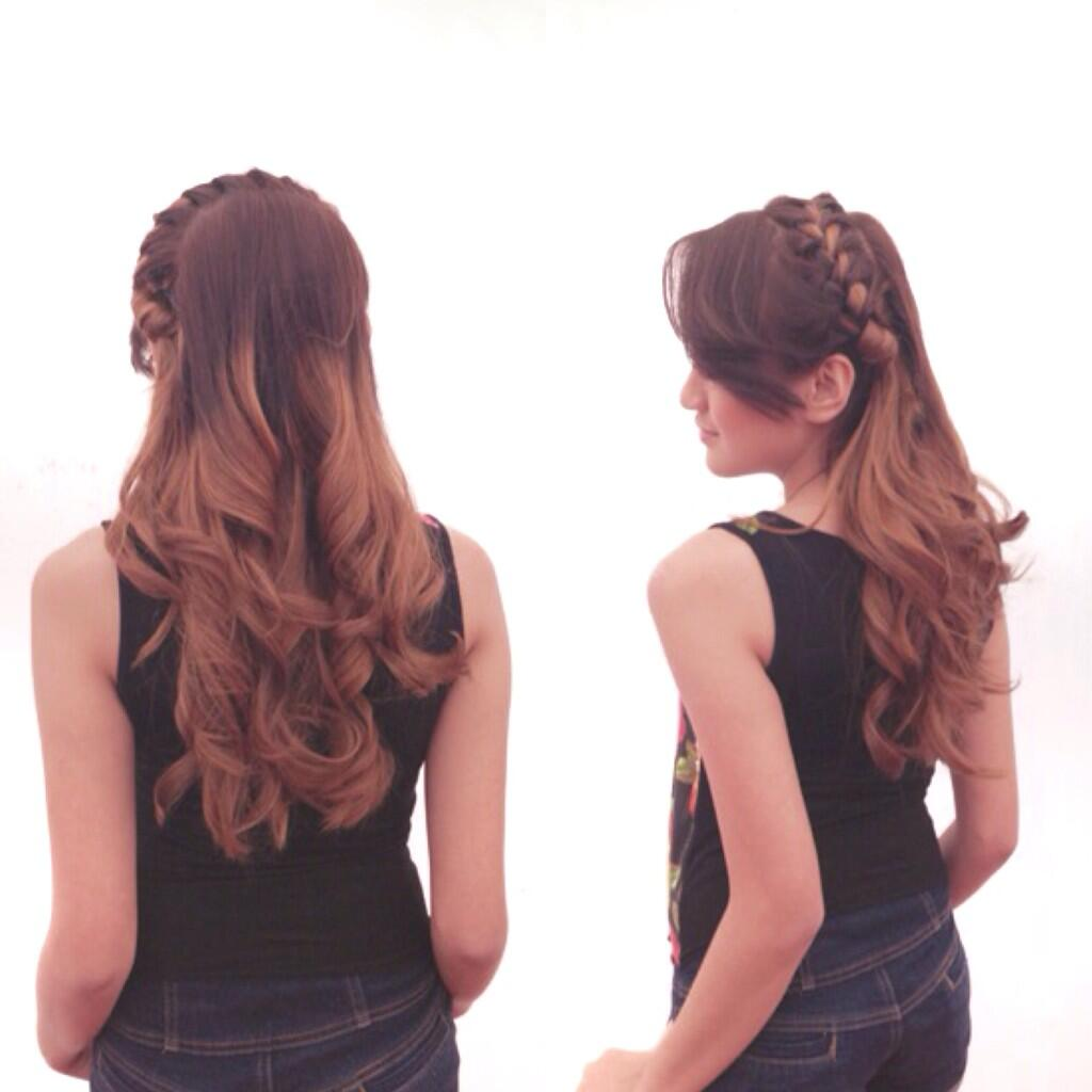 Nu Hair of Salshabilla Adriani, Ombre Cool anough! ♛