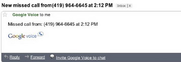 Google Voice now features Missed call notifications