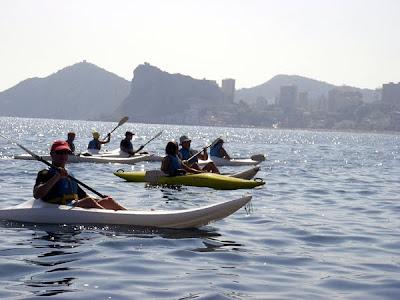 Realizar Kayak en Verano