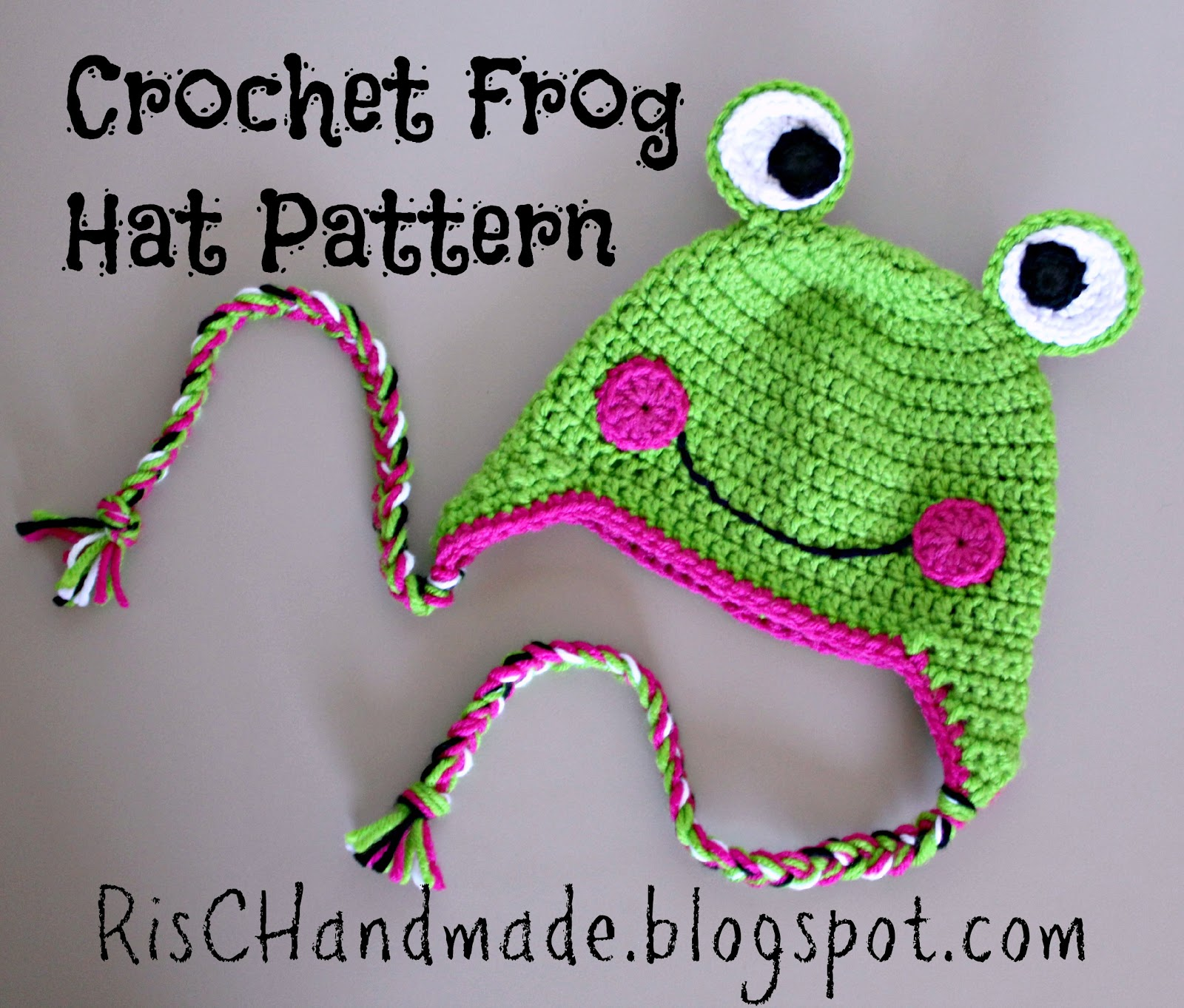 Frog Crochet Hats Free Patterns For Kids Dog Breeds Picture
