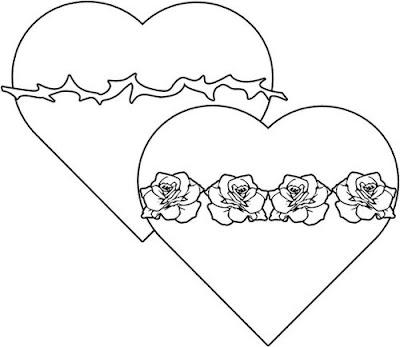 Love Heart Coloring Pages