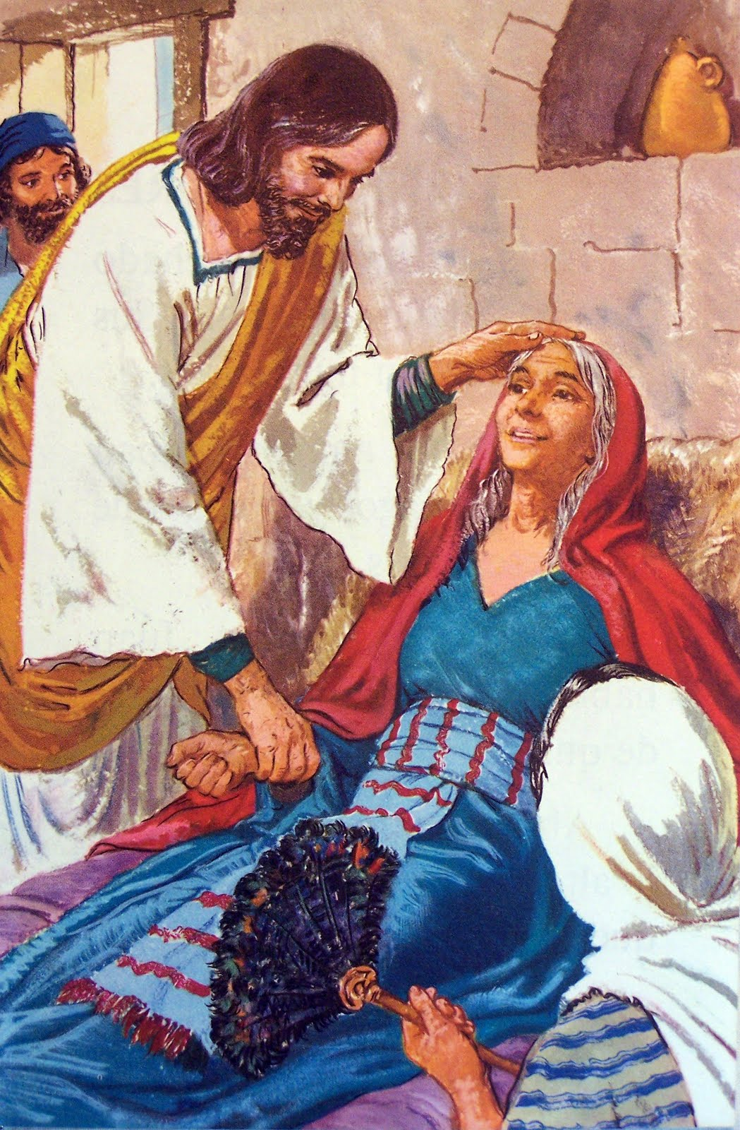 Jesus Healing Peter's Mother-In-Law