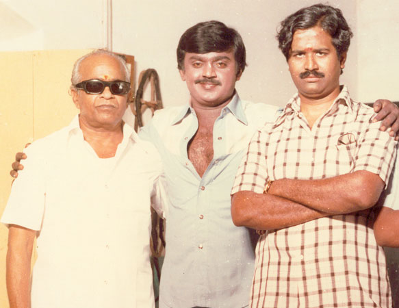 Vijaykanth & his Film Industry Friends