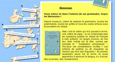 Francais Point Comme La Grammaire Est Une Chanson Douce