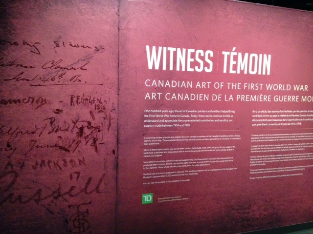 Canadian War Museum Witness